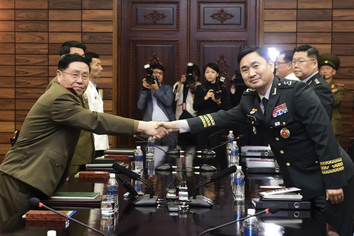 Conversaciones militares entre las dos Coreas