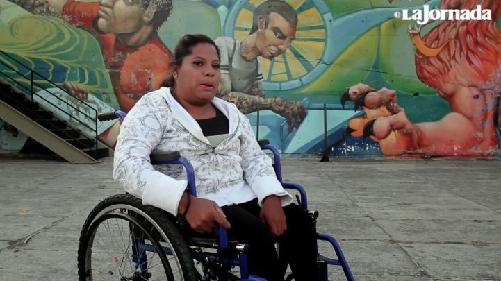 Lupita es bailarina, escritora, hiphopera, y está en silla de ruedas