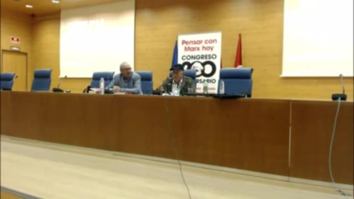 Pablo González abre Congreso en honor a Karl Marx en la UCM