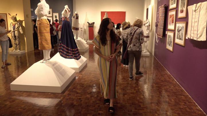 Museo de Arte Popular expone los tesoros textiles del país