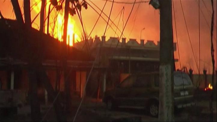 La explosión de un gasoducto deja al menos 14 muertos.