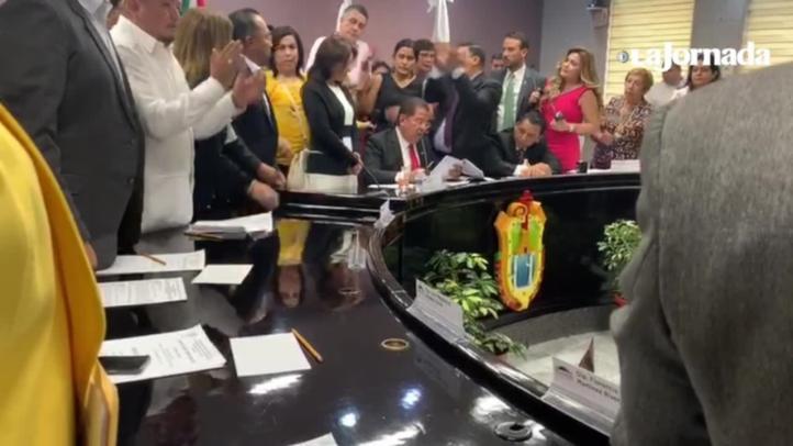 Jorge Winckler, separado temporalmente como fiscal de Veracruz