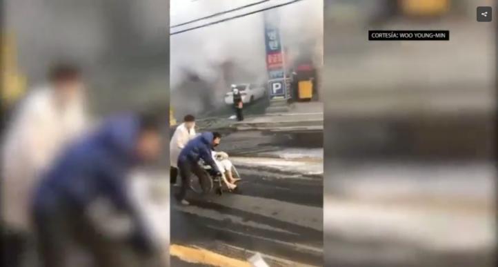 Un incendio en Corea del Sur deja 37 muertos