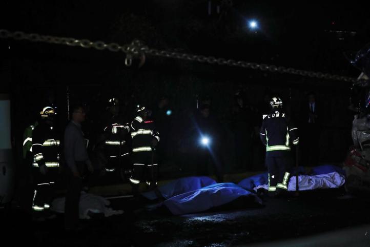 Al menos nueve muertos por accidente en la México-Toluca