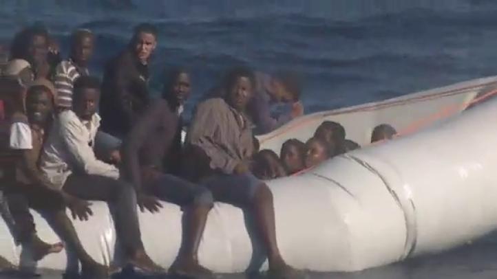 Italia rescata a más de mil  migrantes en el Mediterráneo