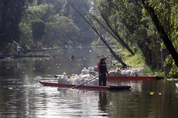 Xochimilco: dañado, 60% del suelo de conservación