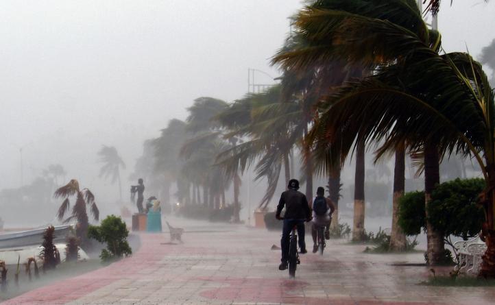 """El huracán """"Newton"""" azota Los Cabos, Baja California"""
