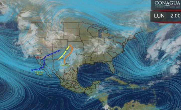 Pronóstico del tiempo para el 7 de marzo