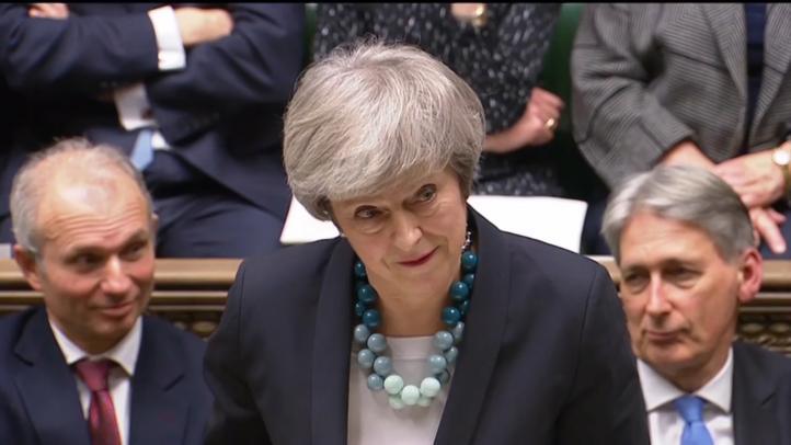 May sin intención para un segundo referéndum por Brexit