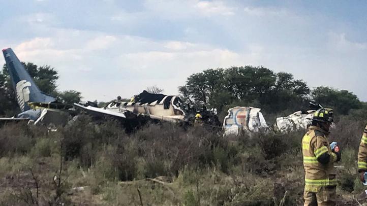 Pasajero graba momento del desplome del vuelo AM-2431