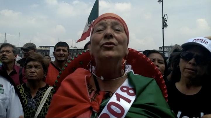 Venimos a festejar o defender el voto: ciudadanos de otros estados en la CDMX