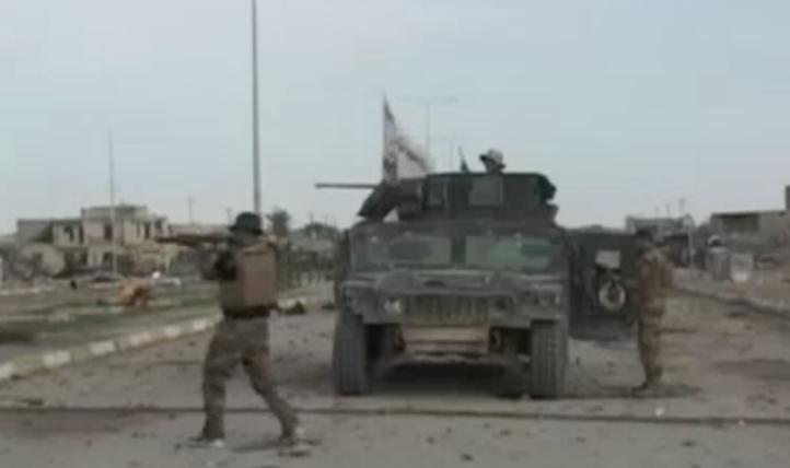 Ejército de Irak, apoyado por EU, ingresa a Ramadi