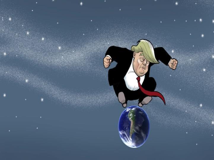 Moneros Animados: Trump