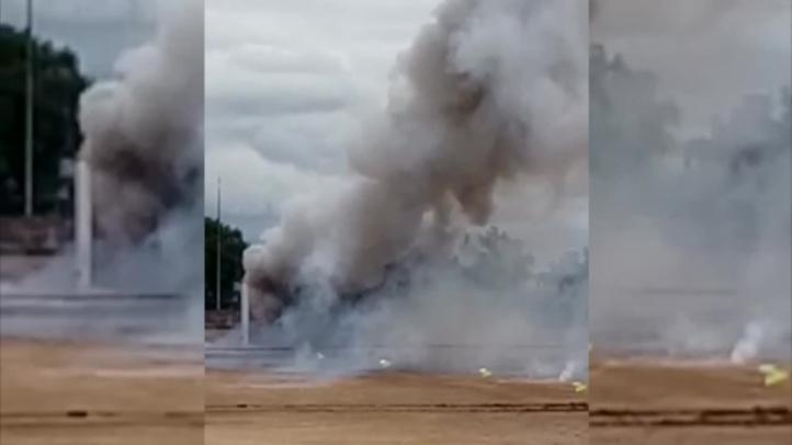 Tultepec: Prueban prototipos de locales para fuegos pirotécnicos