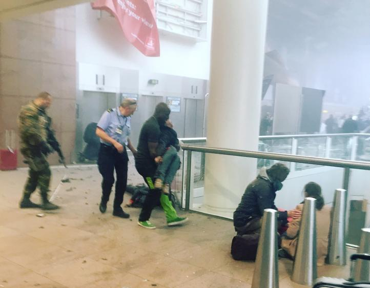 Atentado terrorista en Bélgica