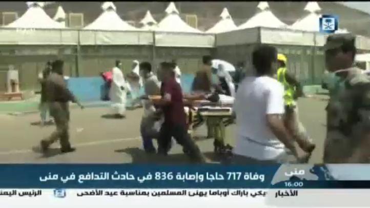 Más de 700 muertos por estampida en La Meca