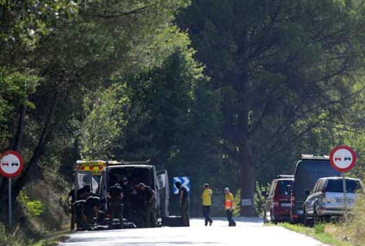 Matan al presunto autor material del atentado en Barcelona