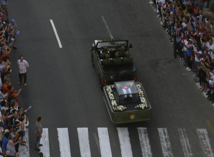 Cenizas de Fidel emprenden su último viaje