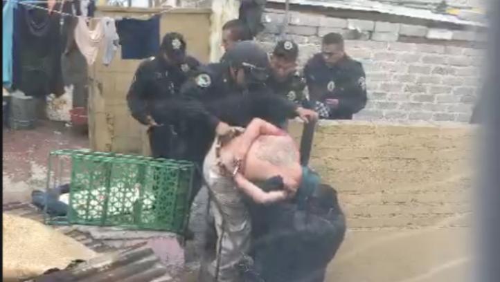 Policías allanan con violencia domicilio en CDMX