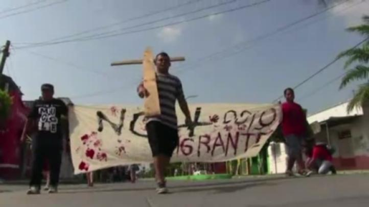 Viacrucis recorrer territorio mexicano: migrantes centroamericanos