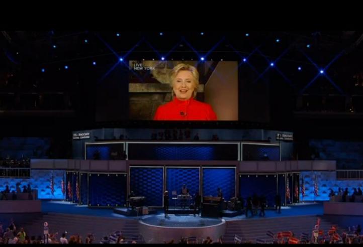 Hillary Clinton candidata por los demócratas