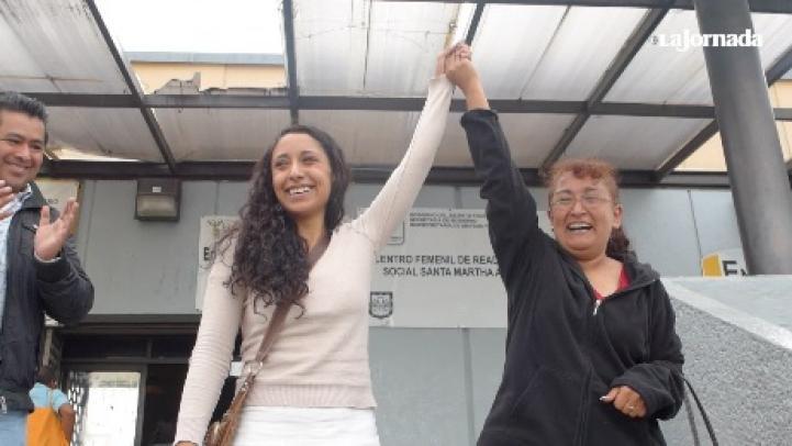 Liberan a Bryan Reyes y Jacqueline Santana, tras casi ocho meses presos