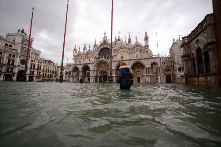 Declaran estado de emergencia en Venecia
