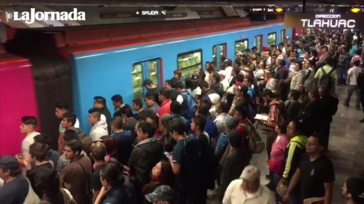 Una falla en un tren provoca retraso en el Metro
