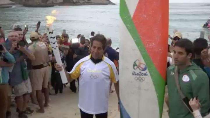 La llama olímpica ya se encuentra en Río de Janeiro