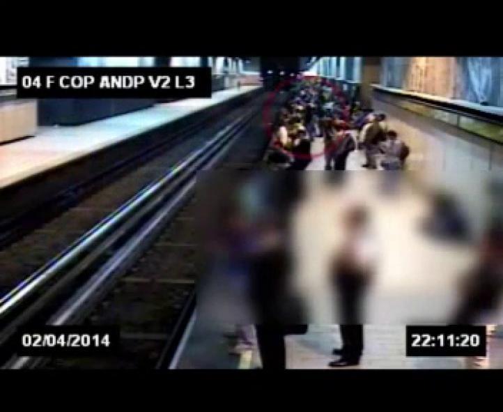 Arrojan a estudiante a las vías del metro Copilco