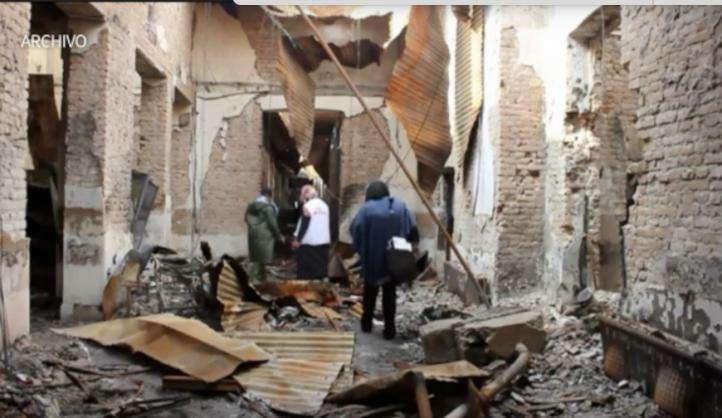 EU califica de error el bombardeo al hospital de Médicos Sin Fronteras
