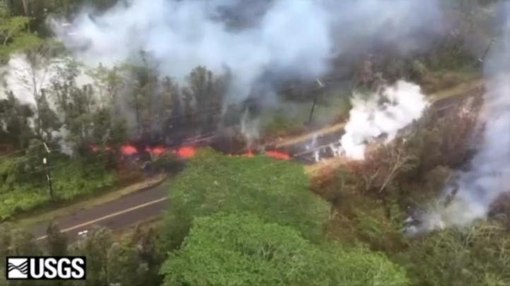 Más evacuaciones en Hawaii por nuevas fisuras volcánicas
