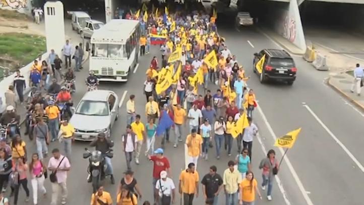 Jornada de movilizaciones contra Maduro en Venezuela