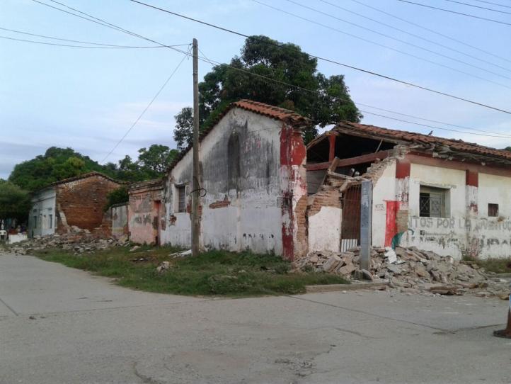 Los habitantes de Unión Hidalgo piden ayuda; la ciudad está muy dañada por el sismo