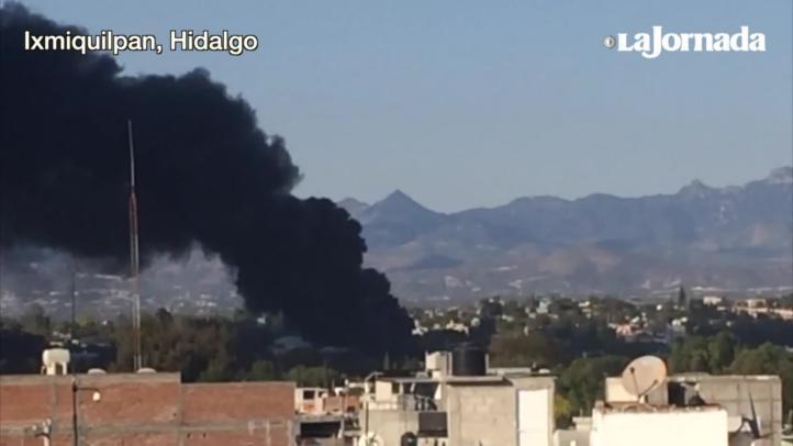 Hidalgo: Explota bodega clandestina de combustible