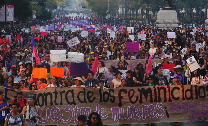 Marchan contra secuestros y feminicidios