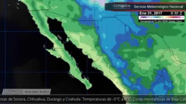 Pronóstico del tiempo para el 30 de enero