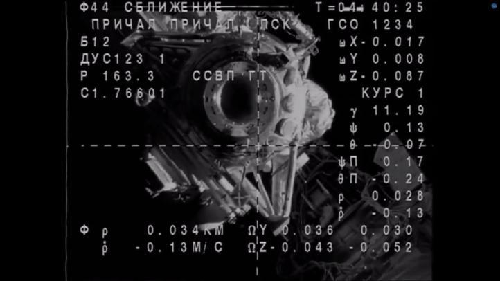 Llega nave Soyuz a Estación Espacial Internacional