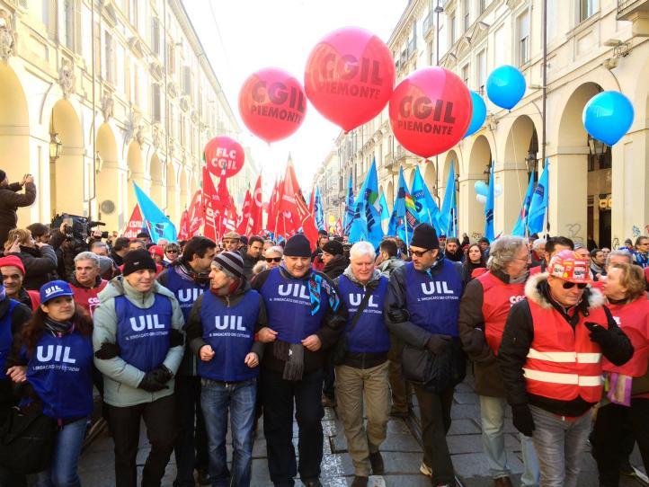 Huelga de sindicatos en Italia por medidas de austeridad