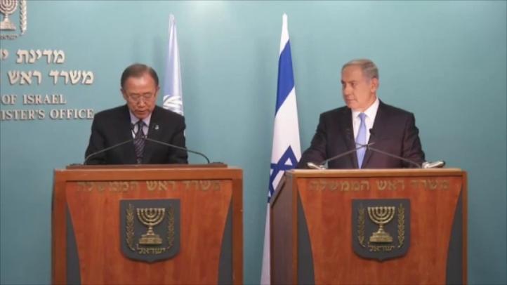 Jefe de la ONU visita sorpresivamente Jerusalén