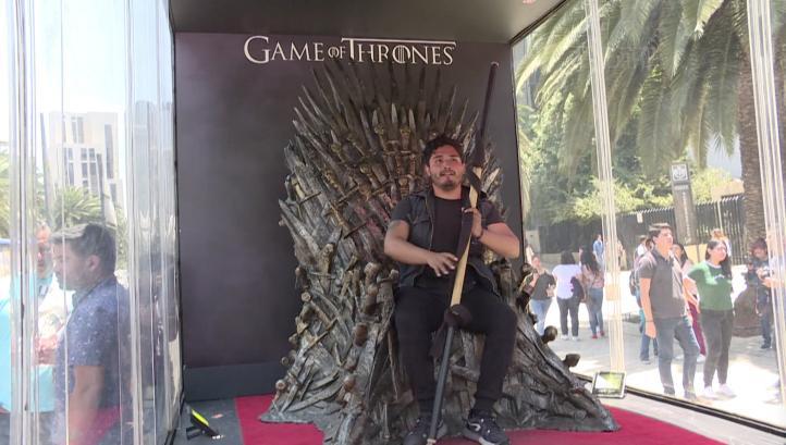 El trono de 'Game of Thrones' llega a México
