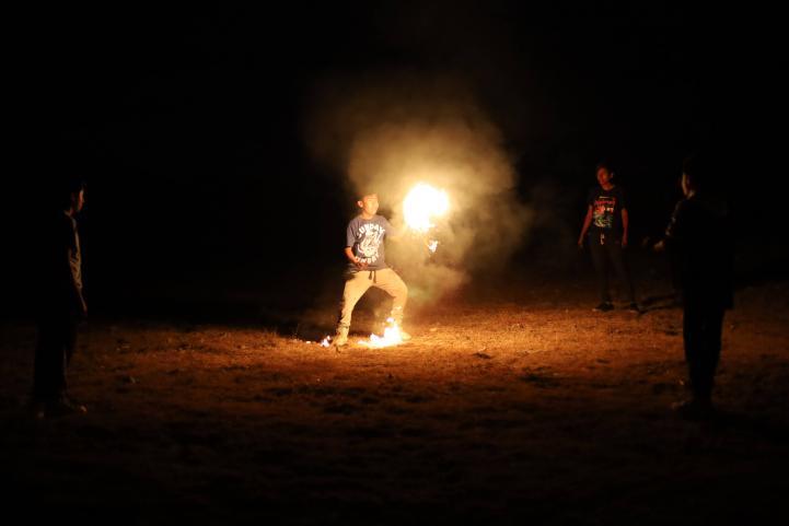 Indígenas zapotecos reciben el Año Nuevo con la Danza de Fuego Nuevo