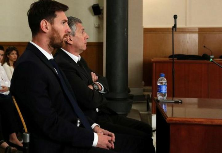 Lionel Messi y su padre Jorge Horacio acuden a tribunal español