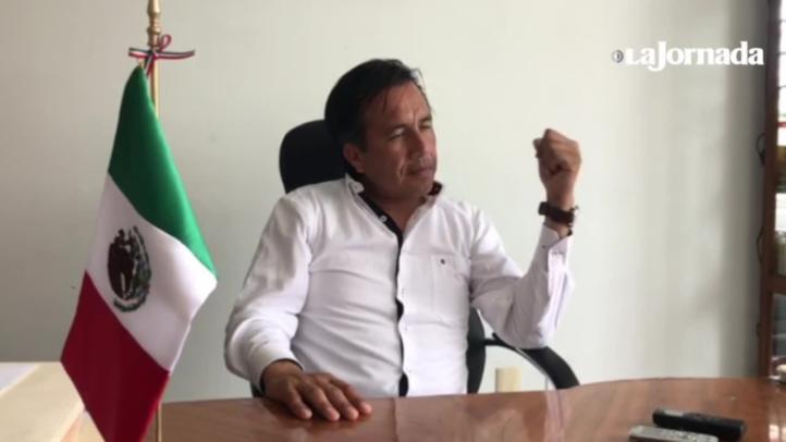 Yunes superó el saqueo del PRI: Cuitláhuac García