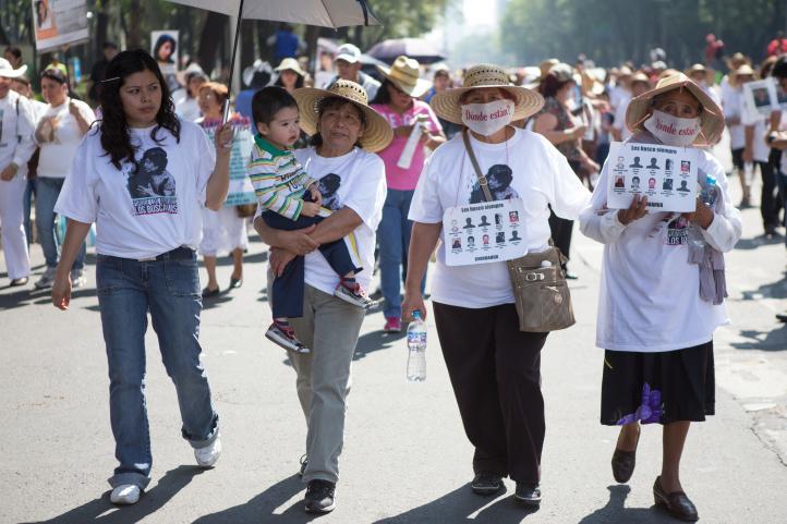 Madres exigen justicia por desaparecidos