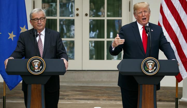 Avanza acuerdo comercial entre la Unión Europea y EU