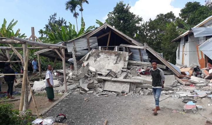 Terremoto de 6.4 en Indonesia