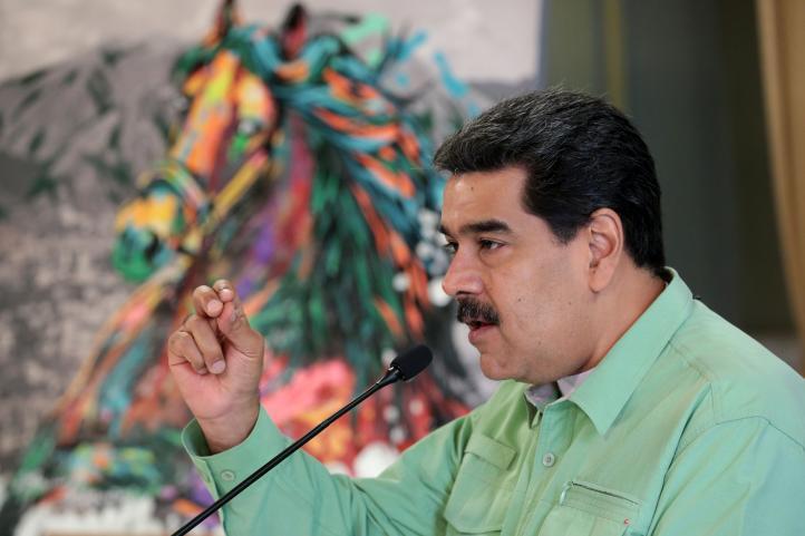 Maduro dice que aceptará ayuda de Rusia y la UE