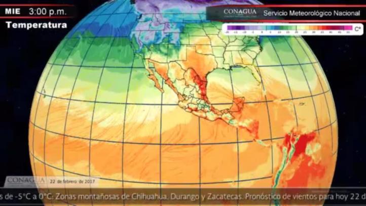 Pronóstico del tiempo para el 22 de febrero