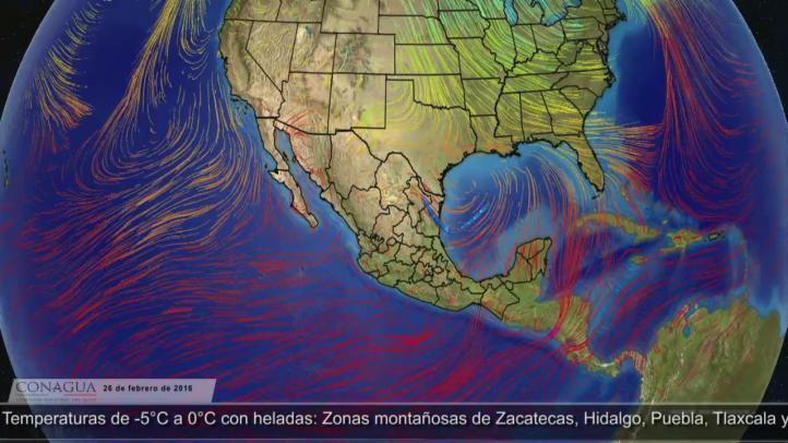 Pronóstico del tiempo para el 26 de febrero